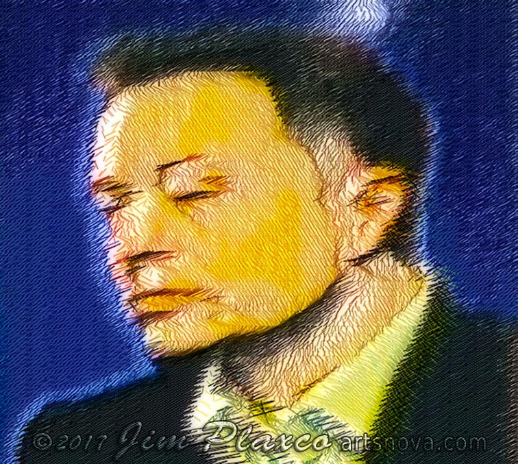 Elon Musk Algorithmic Portrait