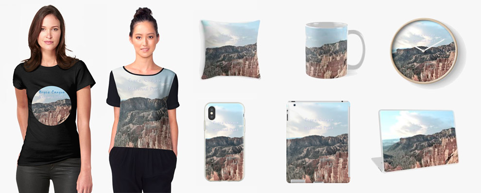 Bryce Canyon National Park products on Redbubble
