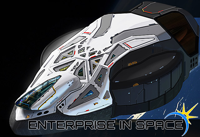 Enterprise in Space Orbiter