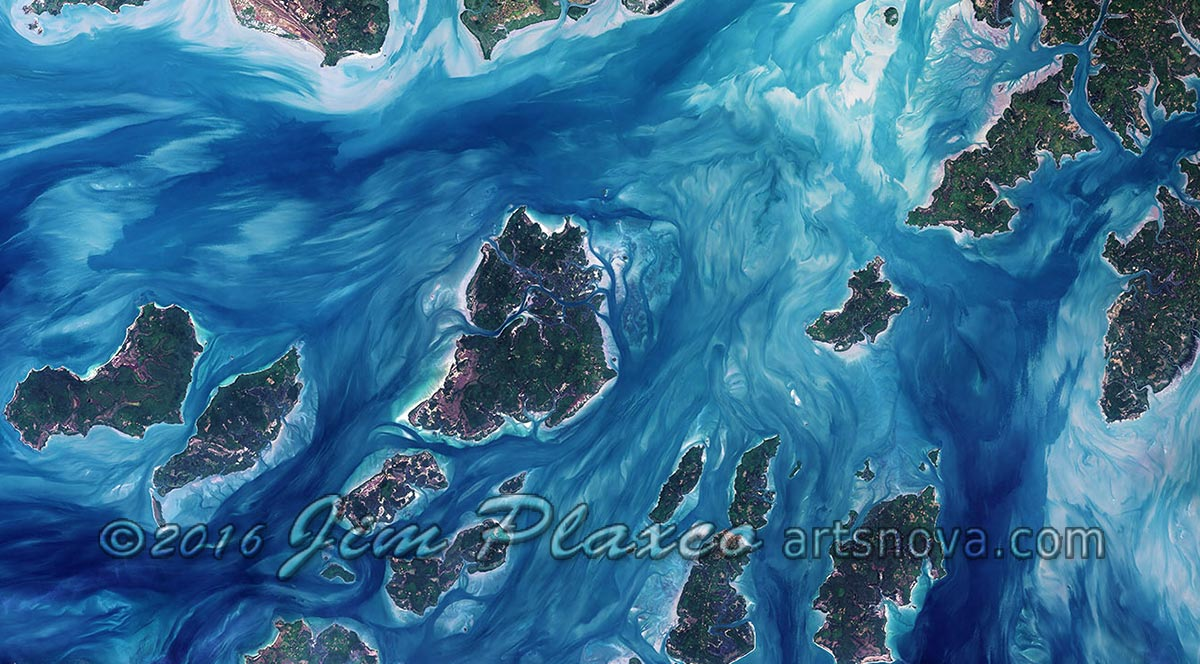 Illustration from Planet Earth As Art When Seen From Space presentation