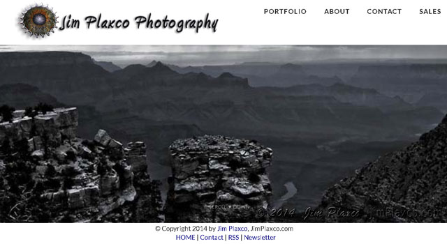 Jim Plaxco Photography Web Site