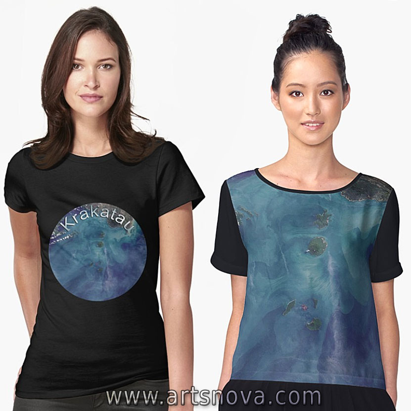 Krakatau Volcano Merchandise and Clothing on Redbubble