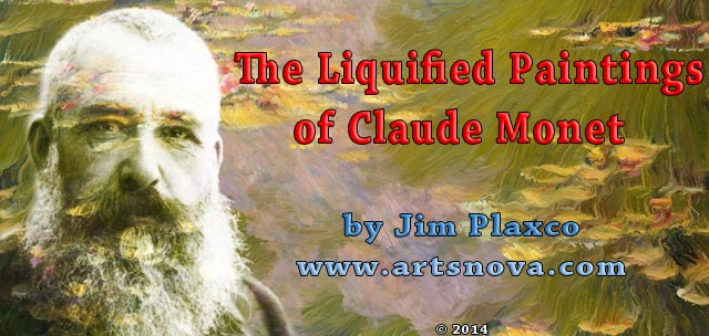Liquified Paintings of Claude Monet