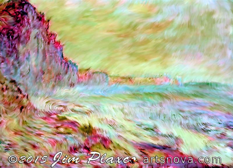 Monet Seaside Rip-off generative art