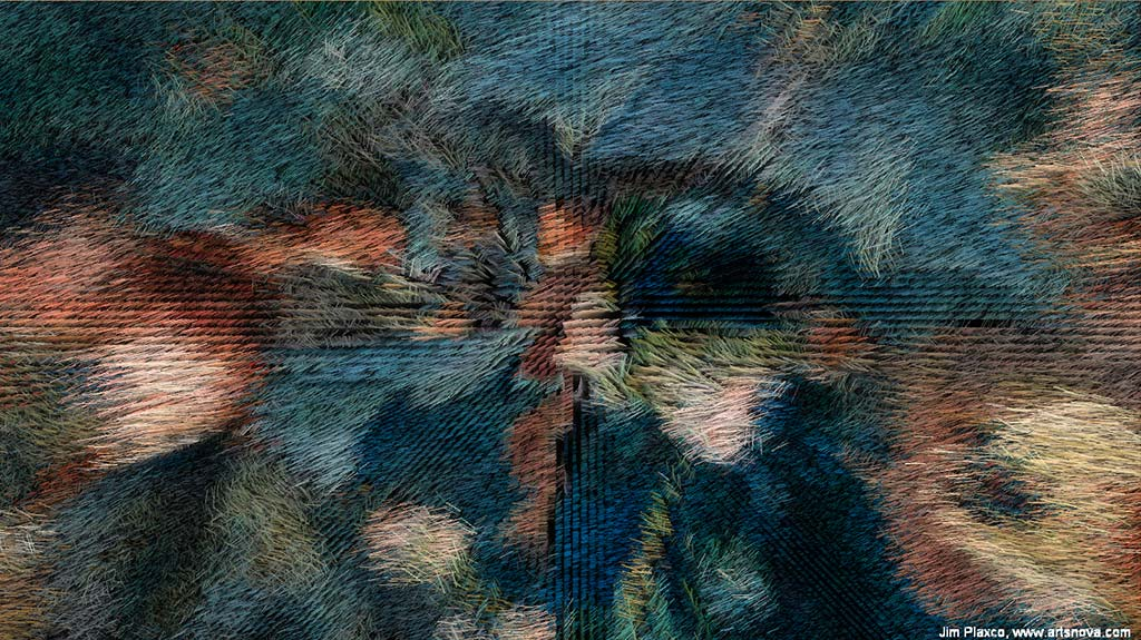 Pierre Auguste Renoir The Umbrellas Algorithmic Interpretation Video Variation