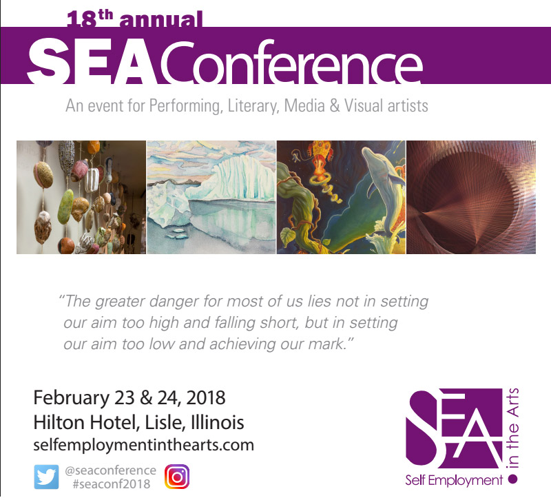 SEA Conference self employment in the arts 2018