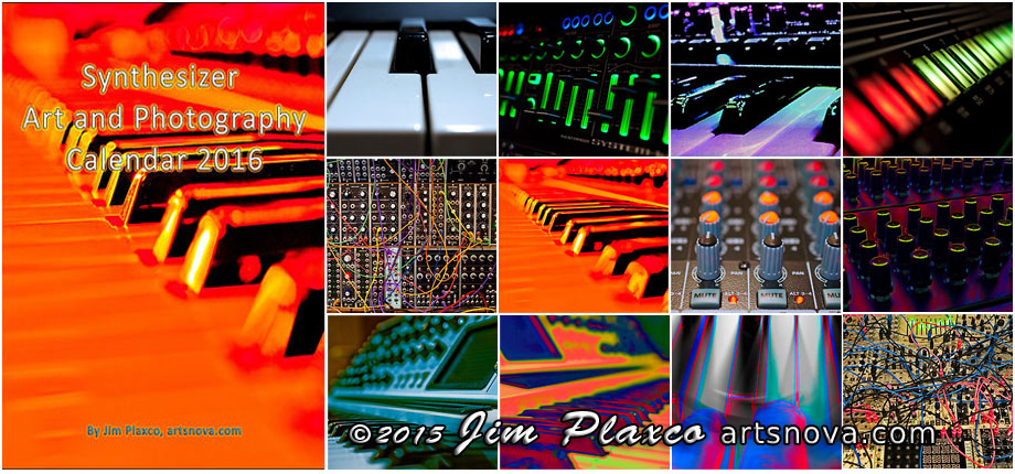 Synthesizer Art and Photography Calendar 2016