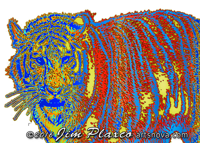 Tiger Tiger Burning Bright art