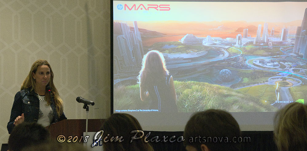 HP Mars Home Planet: Designing a Future Human Civilization on Mars in VR by Sean Young of Hewlett Packard
