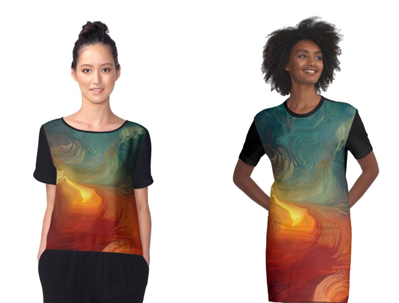 Passage to Oblivion on Redbubble Apparel