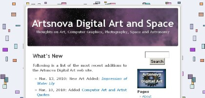 Old Artsnova Blog