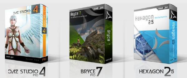 Bryce, Hexagon, DAZ Studio Free Download