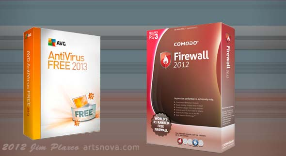 AVG Anti-Virus and Comodo Firewall