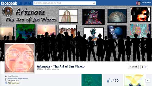 Artsnova Facebook Fan Page