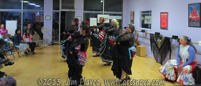 Flamenco Expresivo Dance Ensemble dancers