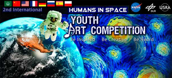 Humans in Space Youth Art Competition