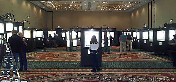 View of John Lennon Art Exhibit and Sale