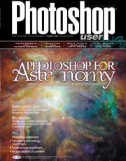 Photoshop User Magazine Astronomy cover