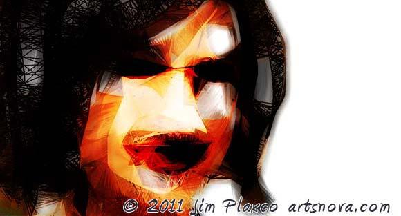 Portrait of Amie Digital Painting