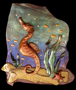 Sea Dream - Seahorse by Liz Harper