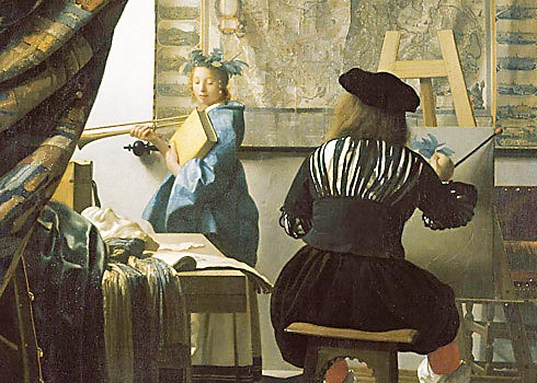 Vermeer Art of Painting