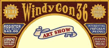 Windycon Art Show