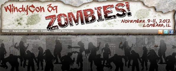 Zombie Apocalypse at Windycon Science Fiction Convention