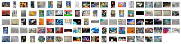 Youth Space Art Contest Entries Judged