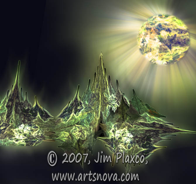 View Fantasy Space Art PNG