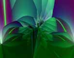 Impression of a Crystalline Flower digital art