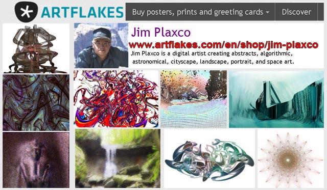 Jim Plaxco's Artflakes.com Art Gallery