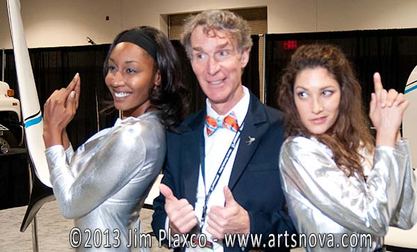 Bill Nye Science Guy at Space Tech Expo