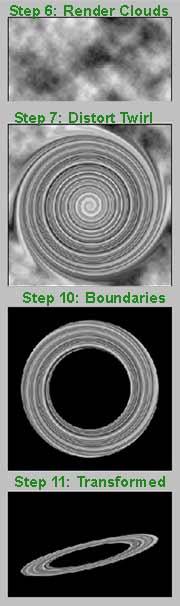 Photoshop Planet Rings Tutorial
